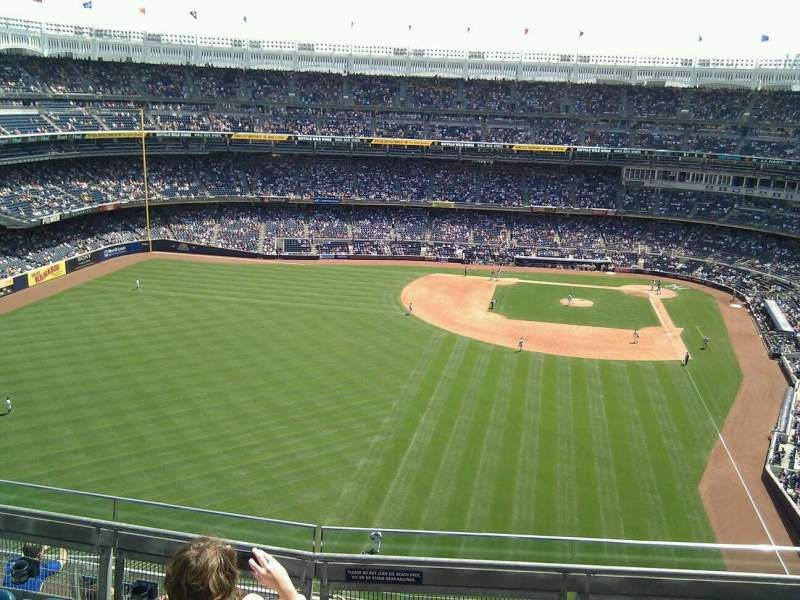 Seating view for Yankee Stadium Section 434b Row 5 Seat 6