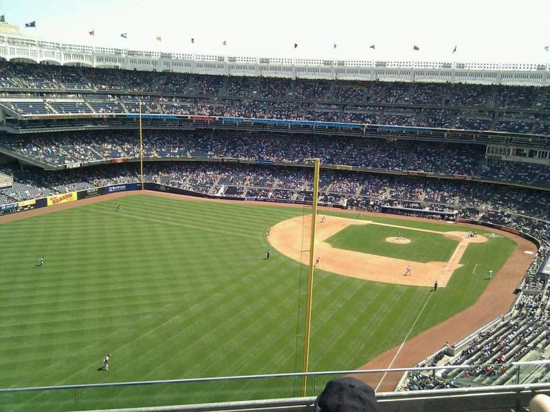 Seating view for Yankee Stadium Section 432b Row 4 Seat 12