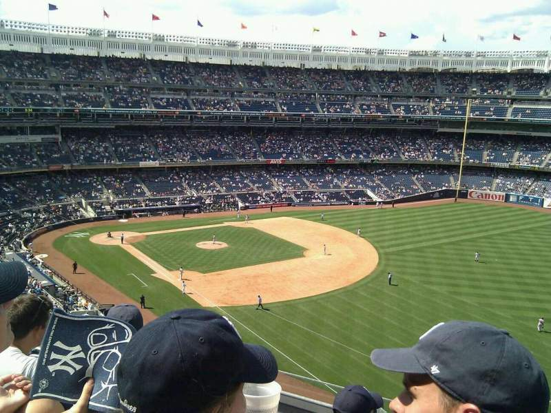 Seating view for Yankee Stadium Section 310 Row 6 Seat 1