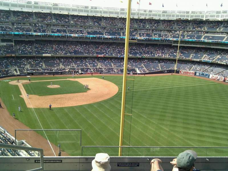 Seating view for Yankee Stadium Section 307 Row 5 Seat 22