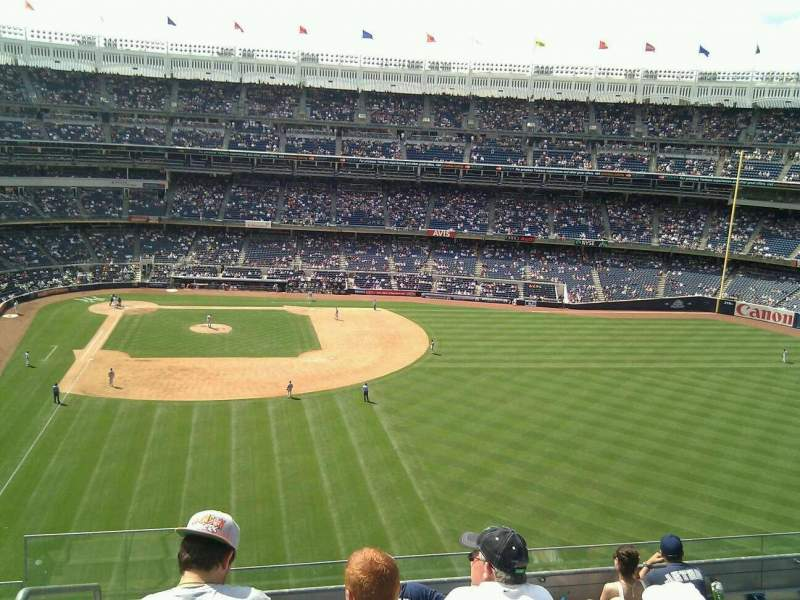 Seating view for Yankee Stadium Section 305 Row 7 Seat 29