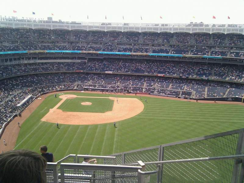 Seating view for Yankee Stadium Section 405 Row 4 Seat 4