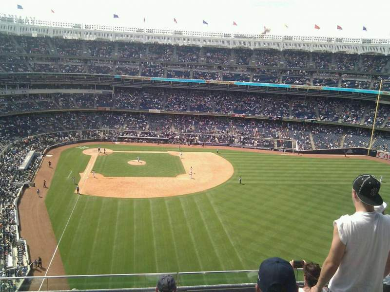 Seating view for Yankee Stadium Section 406 Row 5 Seat 8