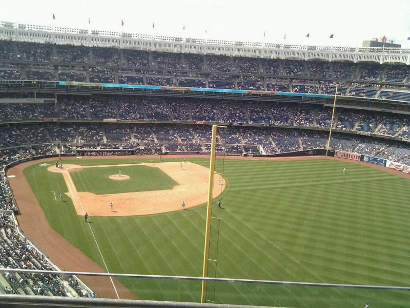 Seating view for Yankee Stadium Section 407b Row 3 Seat 8