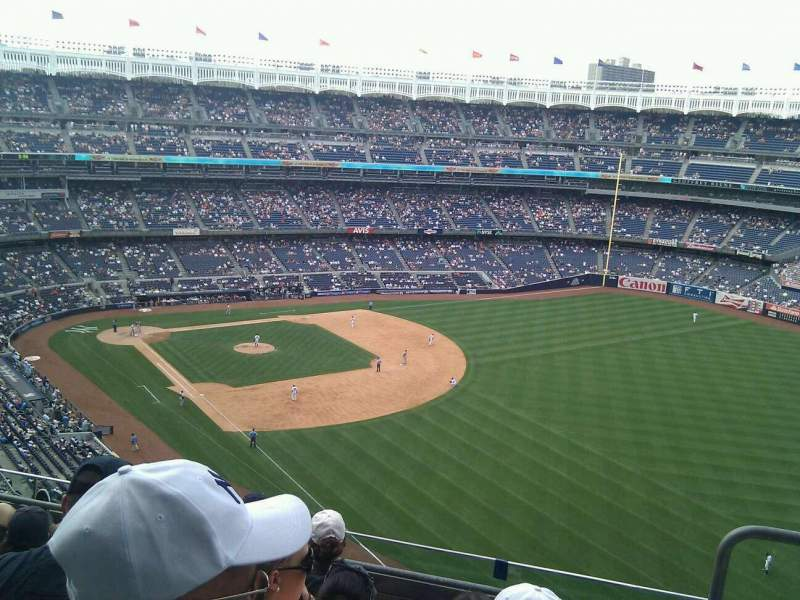 Seating view for Yankee Stadium Section 409 Row 5 Seat 2