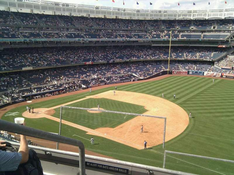 Seating view for Yankee Stadium Section 312 Row 3 Seat 24