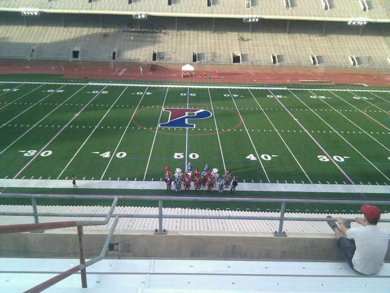 Seating view for Franklin Field Section usg Row 8 Seat 11