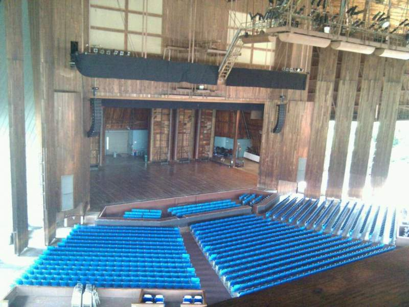 Seating view for The Mann Section balcony box 1 Seat 4