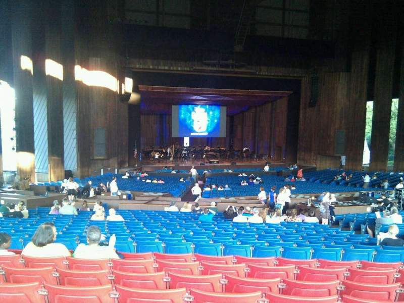 Seating view for The Mann Section orchestra c Row h Seat 21