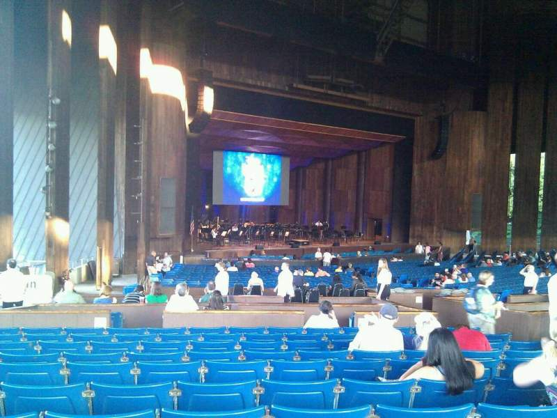 Seating view for The Mann Section orchestra b Row l Seat 65