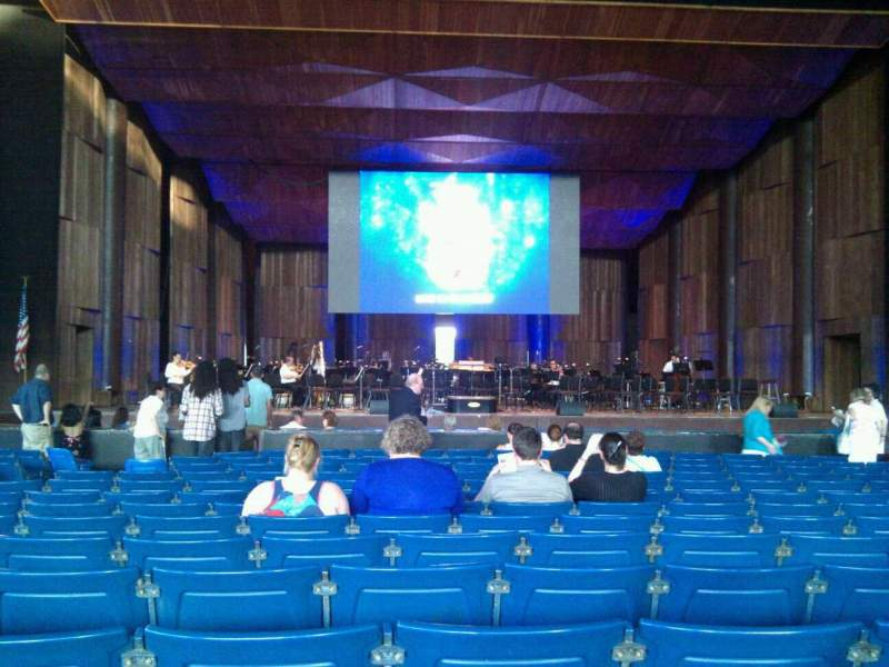 Seating view for The Mann Section orchestra a Row p Seat 111