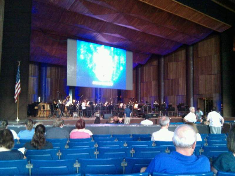 Seating view for The Mann Section orchestra a Row k Seat  21