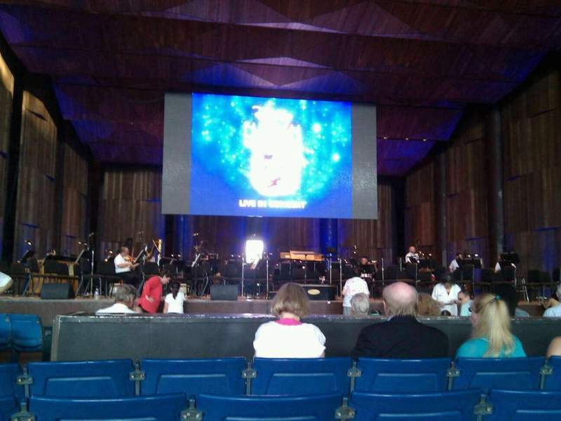 Seating view for The Mann Section orchestra a Row e Seat 105