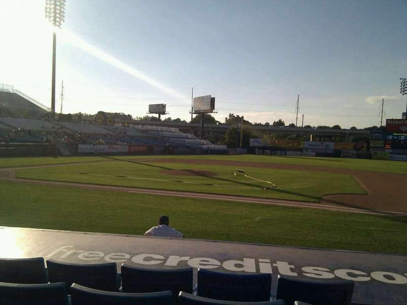 Seating view for Frawley Stadium Section 8 Row 5 Seat 2