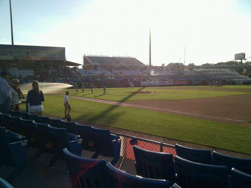 Seating view for Frawley Stadium Section 4 Row 5 Seat 7