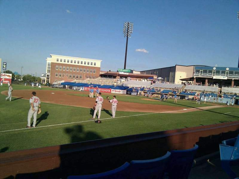 Seating view for Frawley Stadium Section 27 Row 3 Seat 5