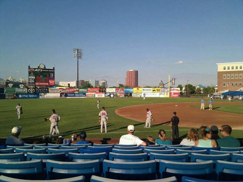 Seating view for Frawley Stadium Section 25 Row 8 Seat 5