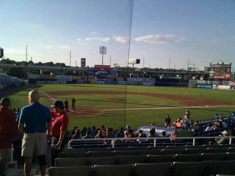 Frawley Stadium, section: e, row: 8, seat: 15