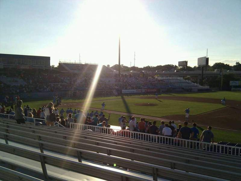 Seating view for Frawley Stadium Section a Row 11 Seat 6