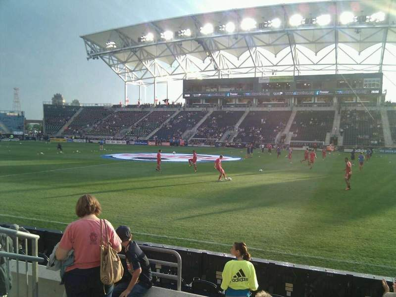 Seating view for Talen Energy Stadium Section 125 Row e Seat 11