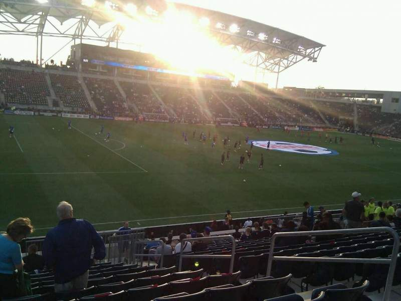 Seating view for Talen Energy Stadium Section 132 Row w Seat 6