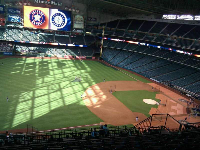 Seating view for Minute Maid Park Section 409 Row 12 Seat 11