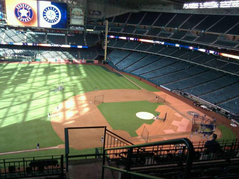 Seating view for Minute Maid Park Section 410 Row 6 Seat 24
