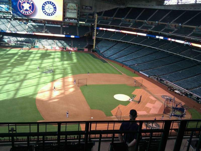 Seating view for Minute Maid Park Section 411 Row 2 Seat 8