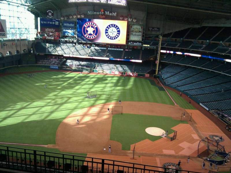 Seating view for Minute Maid Park Section 413 Row 5 Seat 17