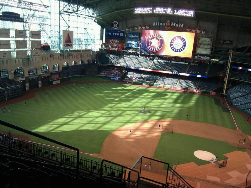 Seating view for Minute Maid Park Section 414 Row 9 Seat 3
