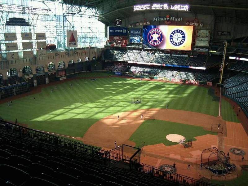 Seating view for Minute Maid Park Section 415 Row 12 Seat 10