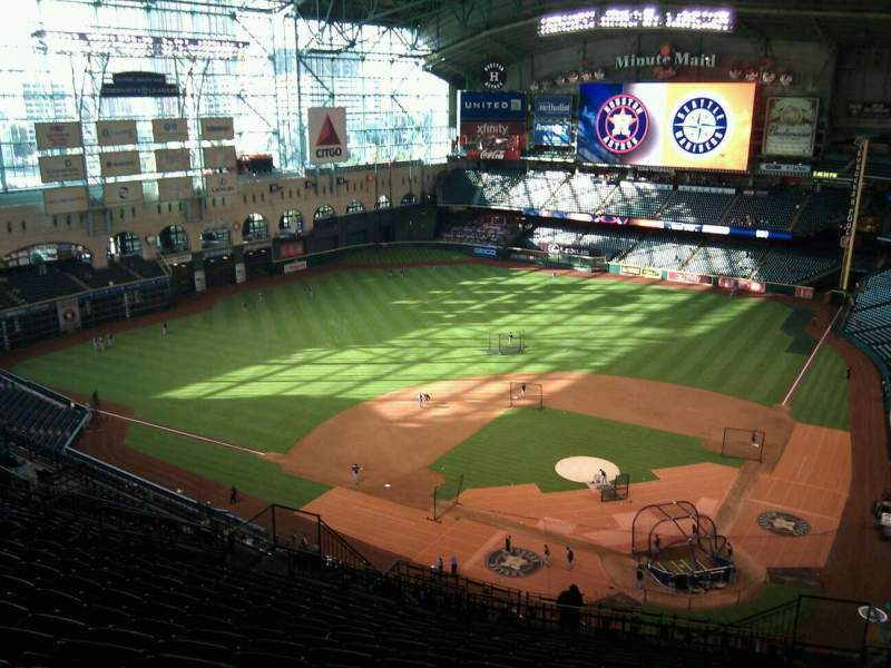 Seating view for Minute Maid Park Section 416 Row 15 Seat 19