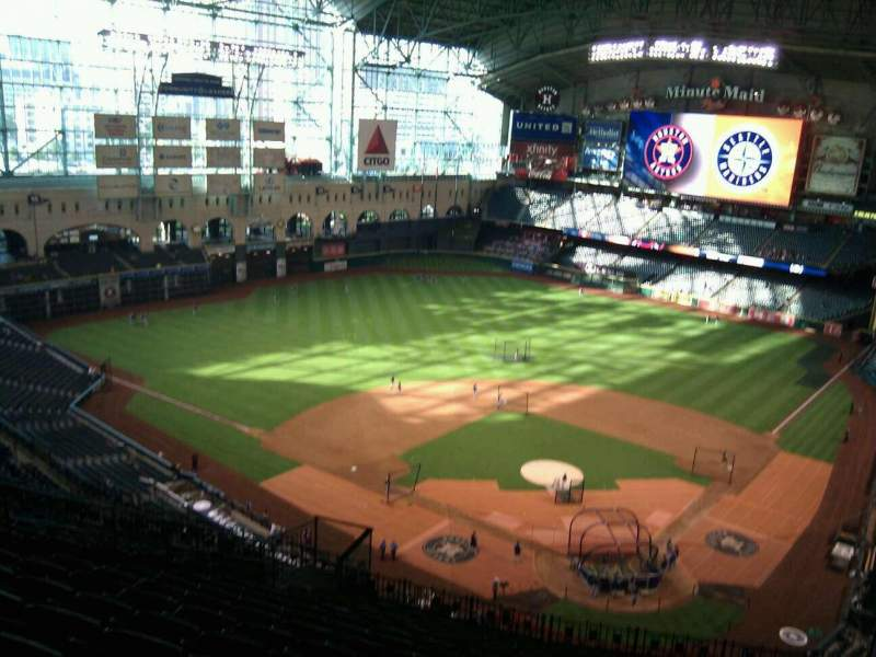 Seating view for Minute Maid Park Section 417 Row 14 Seat 12