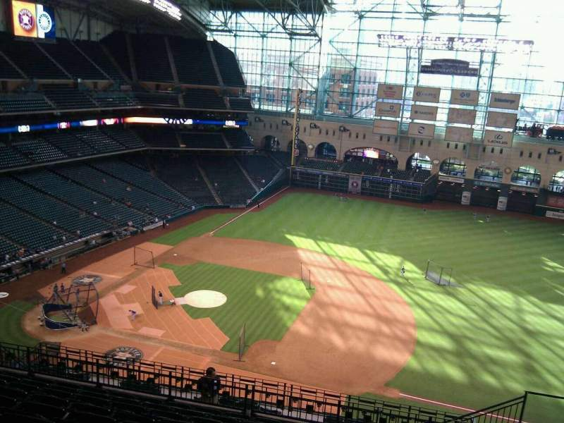 Seating view for Minute Maid Park Section 427 Row 10 Seat 19