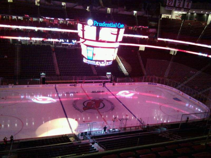 Seating view for Prudential Center Section 127 Row 6 Seat 10