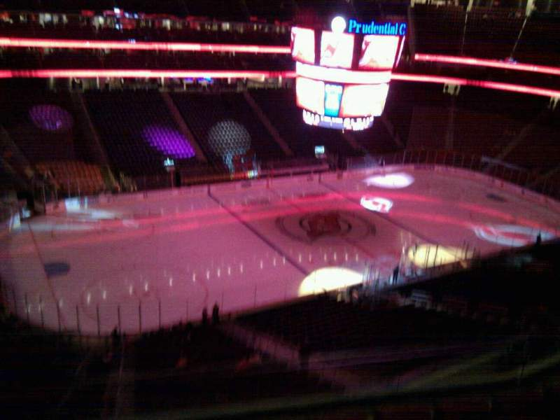 Seating view for Prudential Center Section 126 Row 5 Seat 20