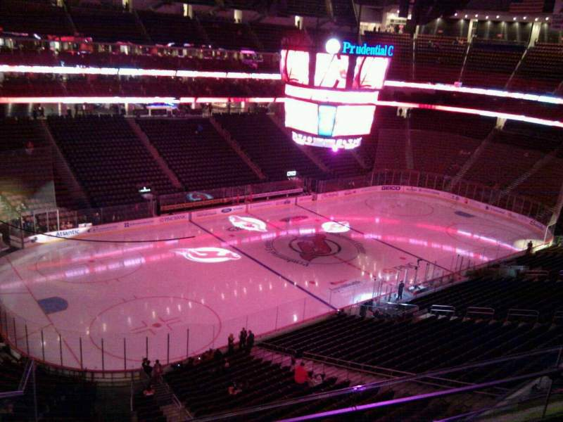 Seating view for Prudential Center Section 125 Row 3 Seat 9
