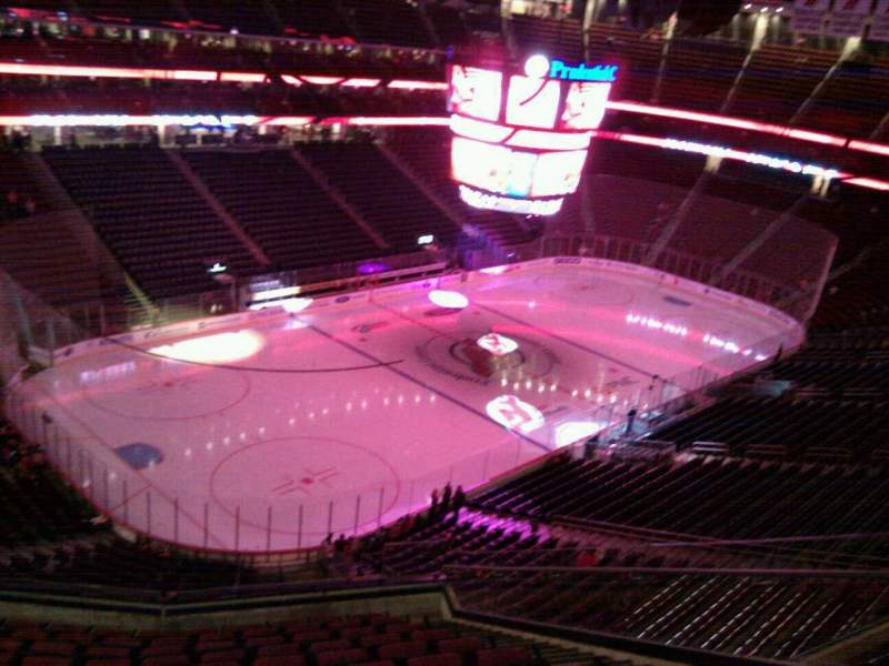 Seating view for Prudential Center Section 124 Row 12 Seat 6