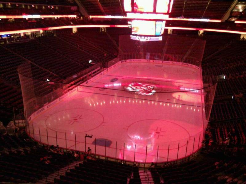 Seating view for Prudential Center Section 121 Row 3 Seat 4