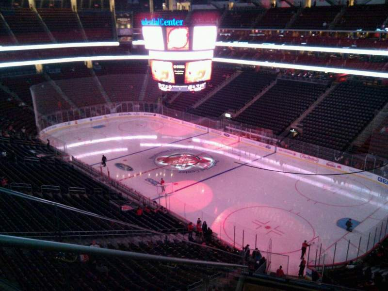 Seating view for Prudential Center Section 116 Row 9 Seat 16