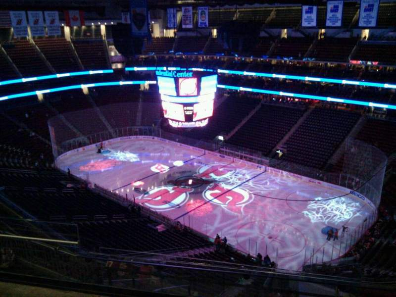 Seating view for Prudential Center Section 216 Row 5 Seat 4