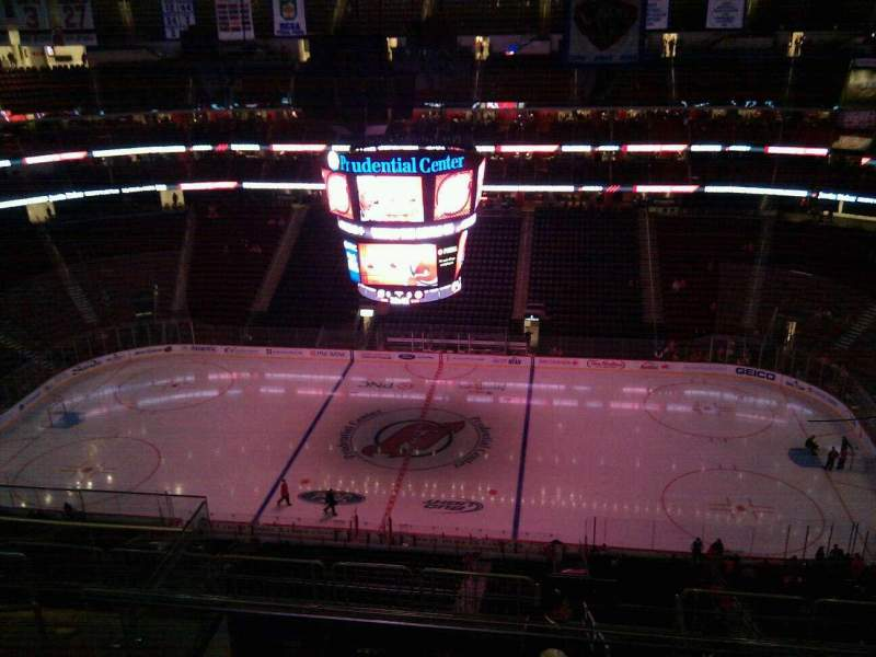 Seating view for Prudential Center Section 213 Row 6 Seat 14