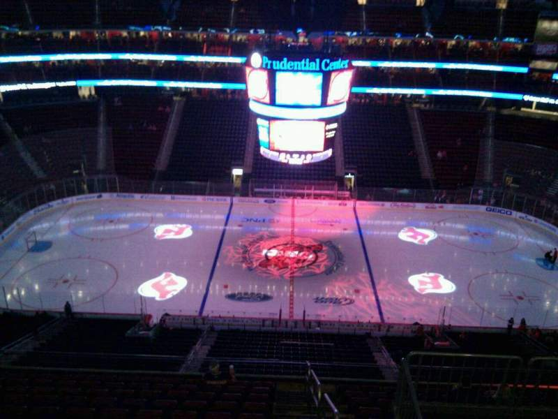 Seating view for Prudential Center Section 212 Row 3 Seat 14