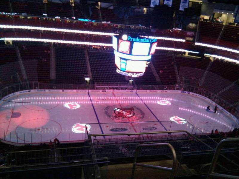 Seating view for Prudential Center Section 210 Row 5 Seat 2