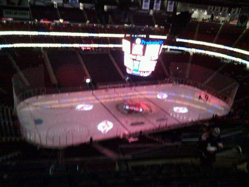 Seating view for Prudential Center Section 209 Row 8 Seat 8