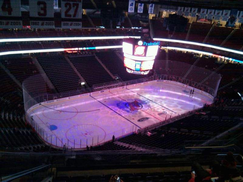 Seating view for Prudential Center Section 208 Row 8 Seat 8