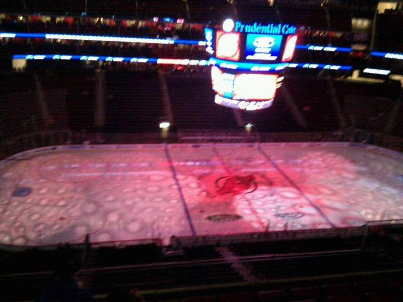 Seating view for Prudential Center Section 110 Row 6 Seat 8