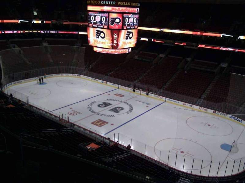 Seating view for Wells Fargo Center Section 204 Row 7 Seat 6