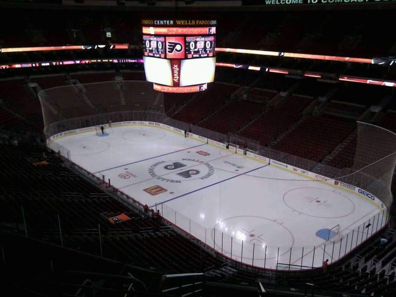 Seating view for Wells Fargo Center Section 204a Row 10 Seat 17