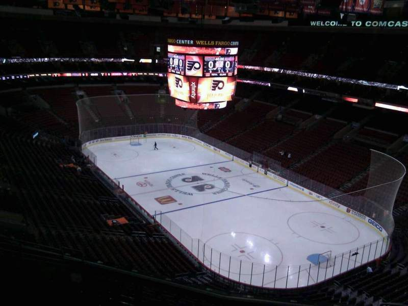 Seating view for Wells Fargo Center Section 205 Row 12 Seat 12